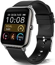 KALINCO Smartwatch, Smartwatch Uomo con Cardiofrequenzimetro, Orologio da Donna per Il Sonno Calorico Smartwat