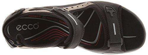 Ecco Offroad, Sandales de sport Femme Noir (black/mole/black O.nub/o.nub/tex50034)