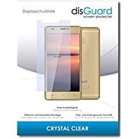 [4 Pack] Cubot H3 Screen Protection Film disGuard® [Crystal Clear] Invisible, Transparent, Clear / Scratch Resistant, Easy Install, No Bubbles, Anti-Fingerprint, Anti-Scratch / Film, Protector Film, Screen Protector