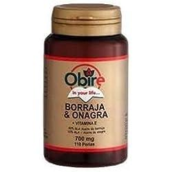 Borraja y Onagra 110 perlas de 700 mg de Obire