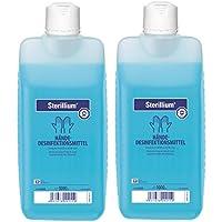 Preisvergleich für 2 x Sterillium Hände - Desinfektionsmittel 1000 ml.