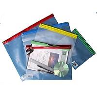 Flipfile Zip Wallet A4+ 370x255mm Asstd Colours