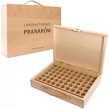 Pranarôm - Aromathèque - Huile Essentielle - Pour 60 Flacons d'Huiles Essentielles de 5 et 10 ml ...