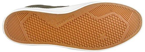 Converse Cons Zakim Ox Sneaker, Chaussures de Gymnastique Mixte Adulte gris/blanc