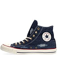 Converse Unisex-Kinder CTAS-Hi-Navy-Youth Hohe Sneakers