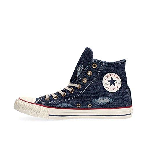 Converse Ctas Core Hi 015860 Unisex - Kinder Sneaker Blue Denim
