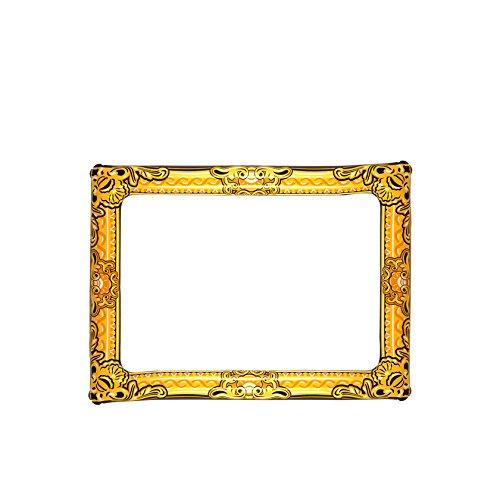 Inflatable Novelty Large Gold Photo Frame 60cm x 80cm