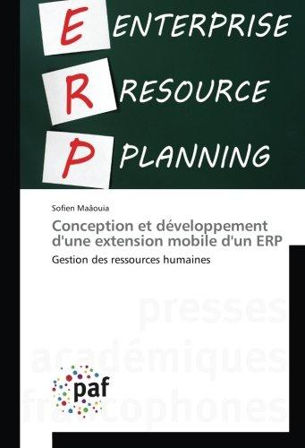 Conception et developpement d'une extension mobile d'un eRP: Gestion des ressources humaines par Sofien Maâouia