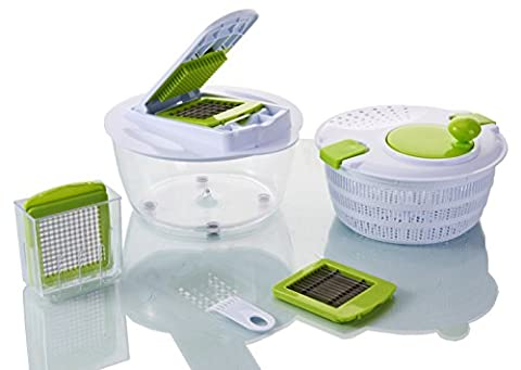 Vegetable's Chef - Salad Spinner - Onion, Vegetable, Fruit and