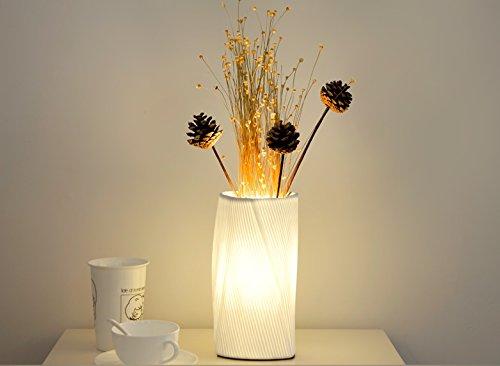 Kreative einfache keramische DIY Blumen-Tabellen-Lampe - Modernen Speisesaal Möbel