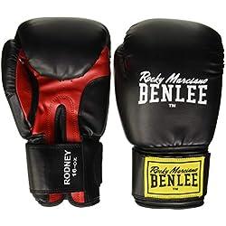 Benlee Rocky Marciano Rodney Gant de boxe PVC Noir 10 Taille Unique