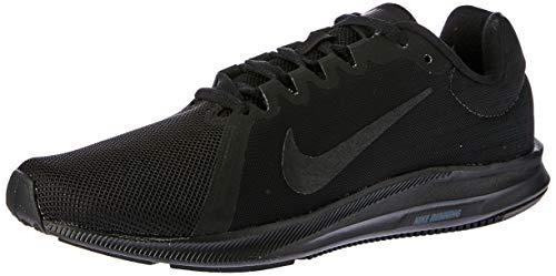 Nike Herren Downshifter 8 Laufschuhe, Schwarz (Black/black 002) , 42.5 EU