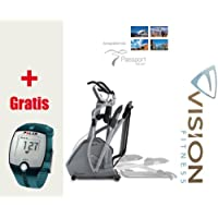 Preisvergleich für XF40i Elegant Vision Fitness Elliptical Crosstrainer - FT1 Polar Pulsuhr inkl. T31 Polar Brustgurt