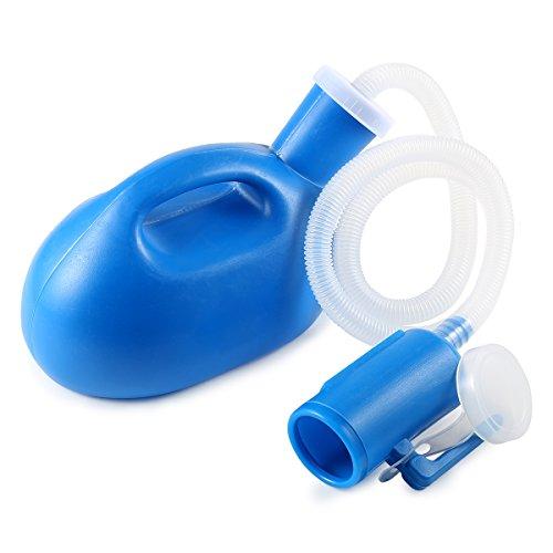 BESTOOL - orinatoio portatile, capacità 2000ml, adatto a uomini e donne, per ospedale, campeggio, auto e viaggi, blue
