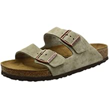 Birkenstock Arizona Zapatos con Hebilla de Ante, Unisex