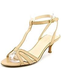 Nine West Odarlin sandalias de vestir de cuero de los zapatos