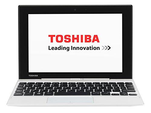 Toshiba Satellite Click Mini L9W-B-102 22,61 cm (8,9 Zoll) Convertible Notebook (Intel Atom Z3735F, 1,3GHz, 2GB RAM, 32GB SSD, Touchscreen, Win 8.1) weiß (Toshiba Satellite Tablet Pc)