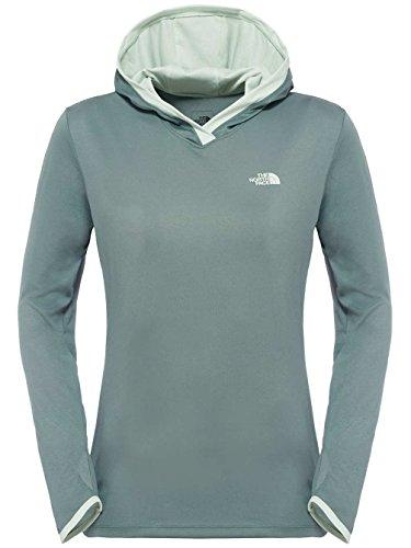 north-face-w-reactor-hoodie-sudadera-para-mujer-color-gris-talla-s