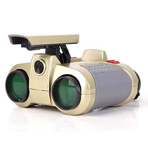 Tiowea Niños Dispositivo visión Nocturna 4x 30Prismáticos