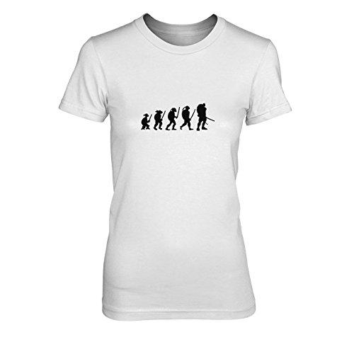 Turtle Evolution - Damen T-Shirt, Größe: XL, Farbe: ()