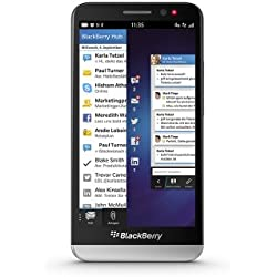 BlackBerry Z30Smartphone (12,7cm (5Pouces) Écran Tactile AMOLED, Appareil Photo 8Mpx, RAM 2Go, mémoire 16Go Noir