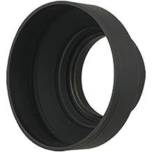 67mm Parasol de goma flexible para objetivo 67mm Parasol Parasol flexible de objetivo Compatible con todas las marcas Canon Fuji Fujifilm Leica Nikon Olympus–adaptout marca francesa