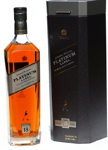 JOHNNIE WALKER Platinum Label 18 Jahre Whisky 1L