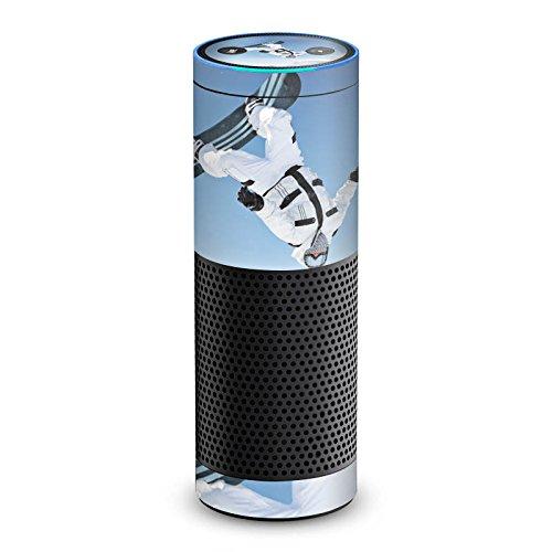 DeinDesign Amazon Echo 1. Generation Folie Skin Sticker aus Vinyl-Folie Snowboard Snow Schnee Echo-snowboard