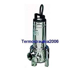 Lowara Pompe Submersibles Eaux Usées DOMO 7VXT/B Vortex 0,55kW 0,75Hp 3x400V