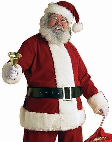 Rubies Deluxe Velvet Santa Claus Suit