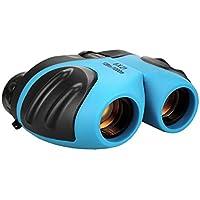 Binocular para Niños, Top Regalo Binocular Compacto Muchacho Adolescente Regalos de Cumpleaños Regalos Juguetes para Niños 3-12 Azul TG008