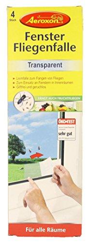 Aeroxon Fensterfliegenfalle (5x Packungen) (Biotonne Küche Metall)