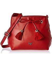 Baggit Women's Sling Bag (Red)