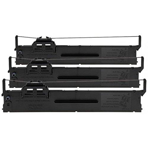 Zeichen 20 (Epson C13S015339 PLQ-20 Farbband 20m 15.000.000 Zeichen 3er-Pack, schwarz)