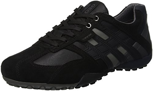 Geox Herren Uomo Snake K Sneaker, Schwarz (Black C9999), 46 EU