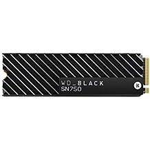 WD Black SN750 - SSD interne NVMe hautes performances pour le gaming avec dissipateur thermique - 2 To