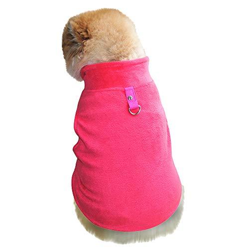 Dragon868 Hund Pullover Warm Tierhund Katze Villus Warm Weste Welpe Doggy ()
