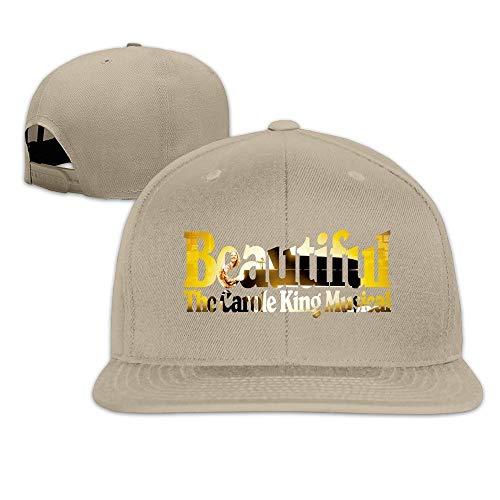 Facsea Runy Custom Beautiful: The Carole King Musical Adjustable Baseball Hat & Cap Natural Hüte Mützen -