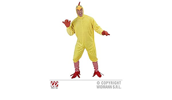 Mens Adults Chicken Bird Animal Farm Fancy Dress Costume Stag Outfit Large