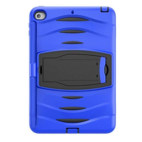 Schutzhülle für iPad Mini 5 2019 Mini 4, Amuse-MIUMIU Silikon Tablet Case Schlanke Ständer Abdeckung mit Stift Slot Kratzfest Anti-Fall Hülle für iPad Mini 5 2019 Mini 4 7.9 Zoll (Blau) - Schützen Bildschirm Mini Des Den Ipad