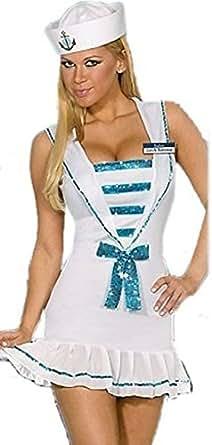 Ladies Sailor Fancy Dress Outfit