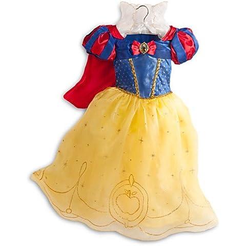 Costume da Biancaneve, per bambini, taglia: 7–8anni - Corpetto Trim