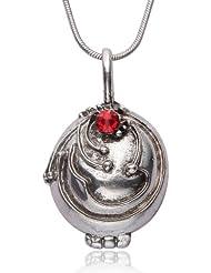 Chamber37 Vampire Diaries colgante secreto collar medallón