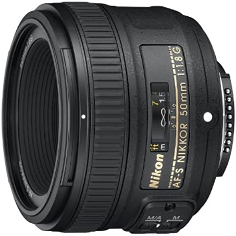 NIKON Objetivo AF-S Nikkor 50mm f/1,8G