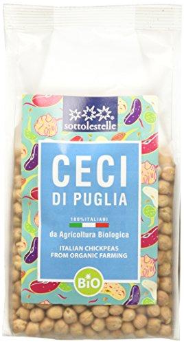 Sottolestelle Ceci di Puglia - 6 confezioni da 400gr - Totale 2.4 kg