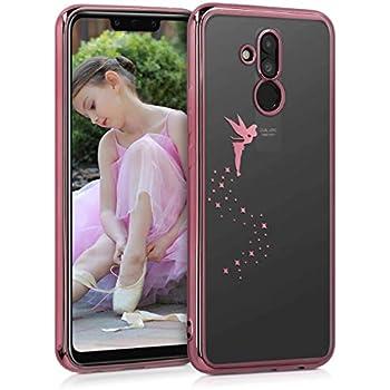 Coque pour Huawei Mate 20 Lite kwmobile Coque Huawei Mate 20 Lite /Étui Double avec Protection /écran m/étallique dor/é