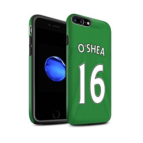 Officiel Sunderland AFC Coque / Matte Robuste Antichoc Etui pour Apple iPhone 7 Plus / Khazri Design / SAFC Maillot Extérieur 15/16 Collection O'Shea