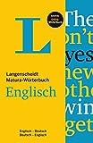 Langenscheidt Matura-Wörterbuch Englisch (Langenscheidt Abitur-Wörterbücher)