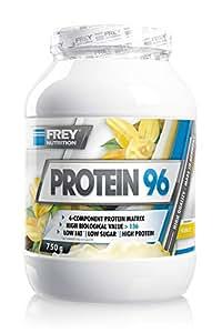 Frey Nutrition Protein 96 Vanille Dose, 1er Pack (1 x 750 g)