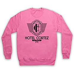 American Horror Story Hotel Cortez Adults Sweatshirt, Pink, Medium